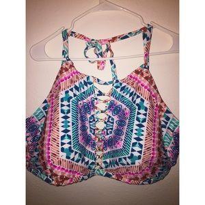 Plus size Halter bathing suit top